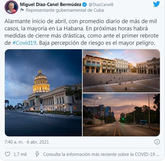Tuit de Díaz-Canel
